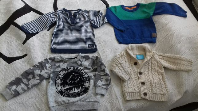 Sweterki oraz bluza