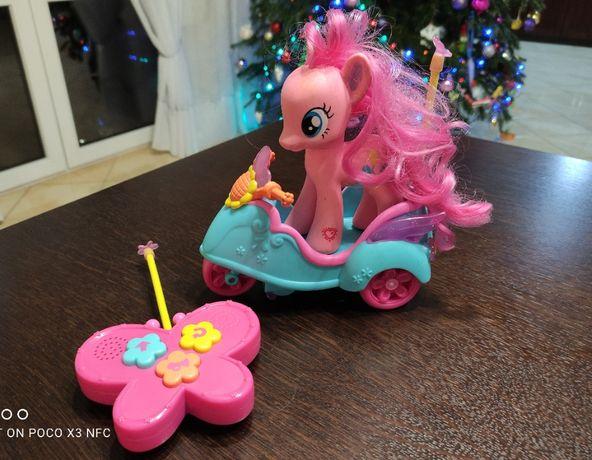 Skuter sterowany RC i Pinkie Pie My Little Pony