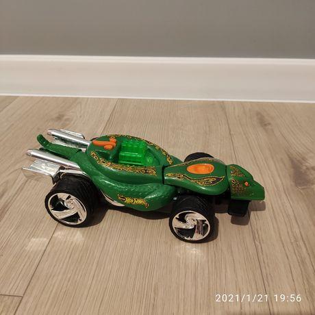 Hot Wheels Extreme Action Turboa samochód z napędem o wyglądzie węża
