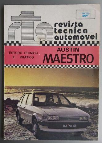 Austin Maestro 1.3 Manual Mecânico de oficina