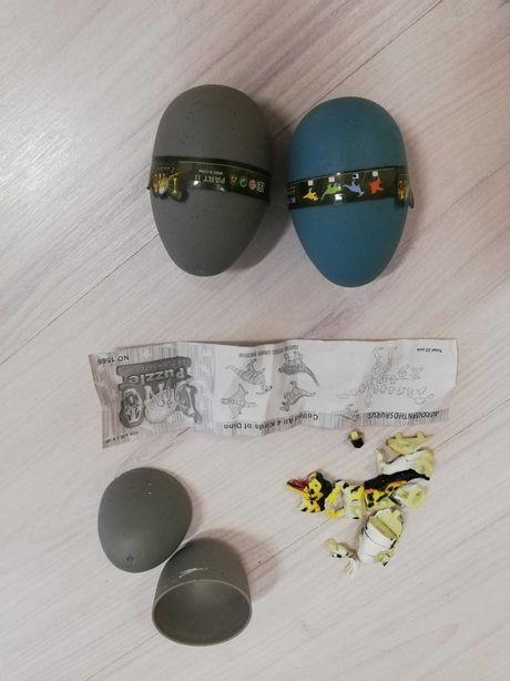 Игрушка динозавр-конструктор в яйце