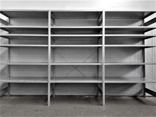 REGAŁ 63x230x303cm/18p Magazynowy Metalowy Garażowy Warsztatowy