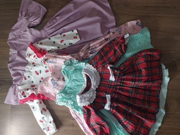 Платья на девочку годик 2-3