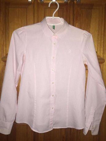Школьная рубашка Benetton для девочки