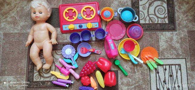 Посудка, кукла, все одним лотом