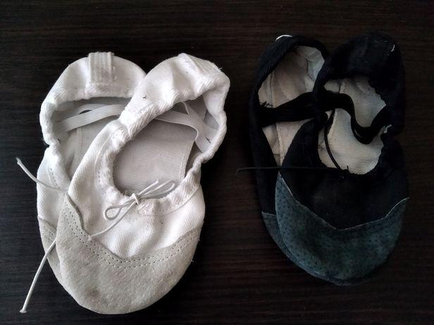 Чешки с кожаным носком