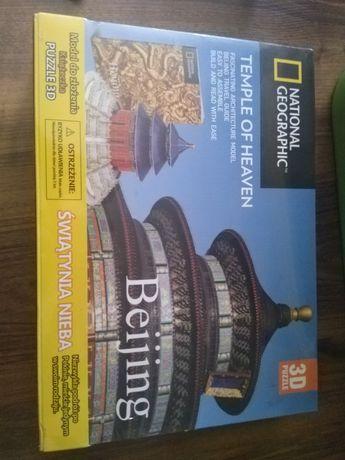 Puzzle 3D National Geographic Temple od Heaven Świątynia Nieba