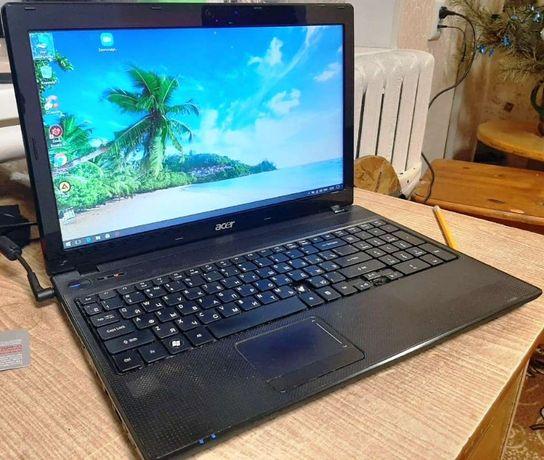 Ноутбук Acer Aspire 5552G в відмінному стані дискретне відео 512мб