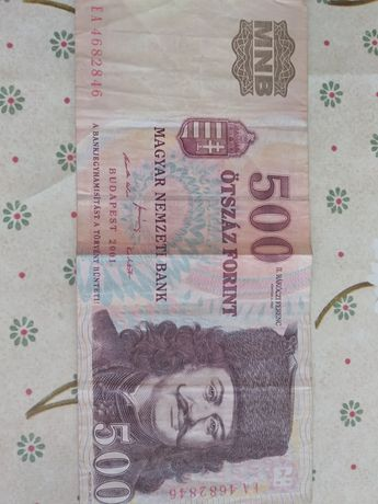 500 forintów 2001r.