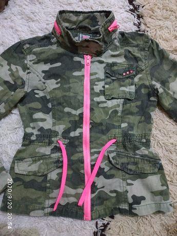 Куртка ветровка в стиле Милитари на 7-8 лет (можно дольше)