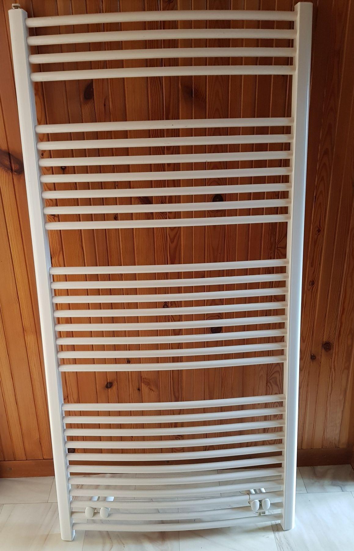 Grzejnik łazienkowy biały drabinkowy Kermi