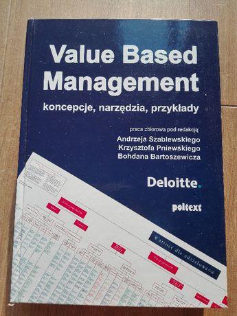 Value Based Management. Koncepcje, narzędzia, przykłady, praca zbiorow