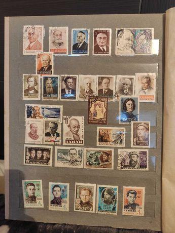Коллекция почтовых марок, альбом марок, марки от 1923 года