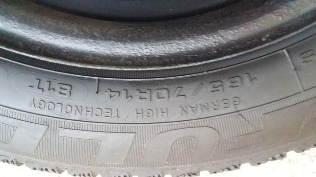 165/70R14 c дисками на Polo, Fabia