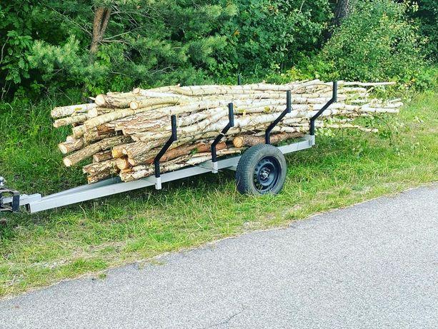 Przyczepa do quada przyczepka ogrodowa do transportu drewna od ręki