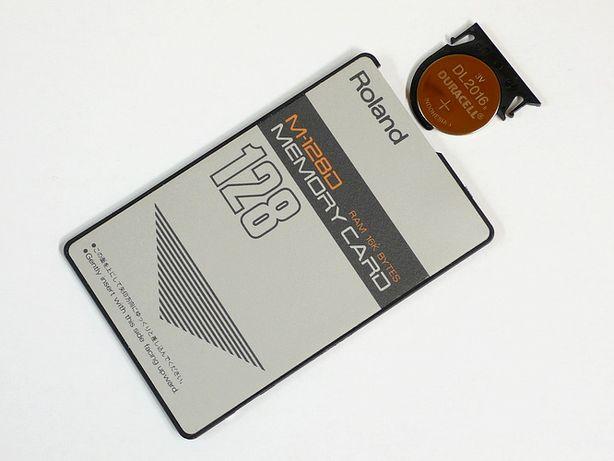 Карта памяти Roland M128D memory card 16k