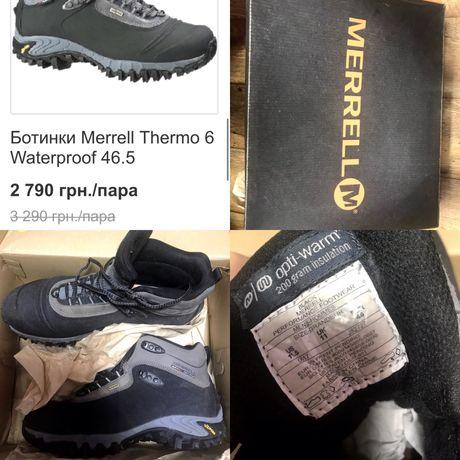 ботинки merrell Thermo 6 Waterproof 29,5 см