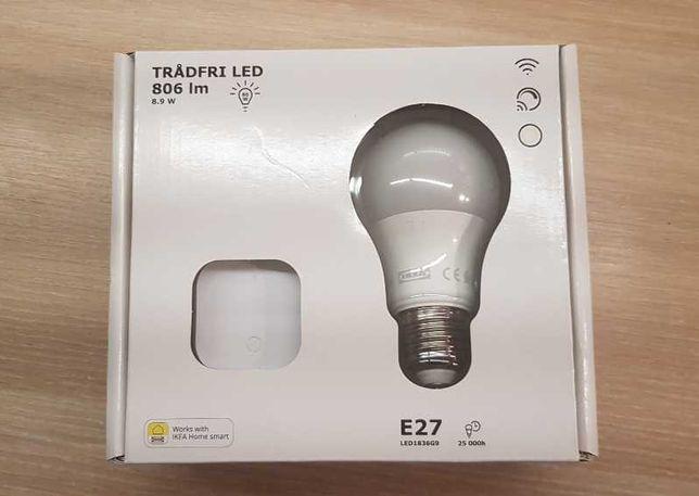 Żarówka IKEA zestaw ze ściemniaczem TRADFRI