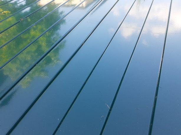 Panel ogrodzeniowy 153 cm antracyt grafitowy panele ogrodzeniowe płot