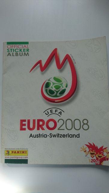 Album na naklejki Panini UEFA Euro 2008