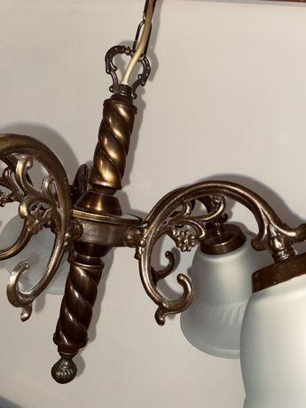 Lampa sufitowa mosiężna