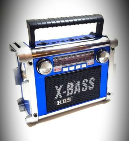 Radio Usb Aux Latarka Akumulator