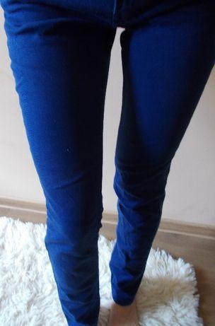 spodnie niebieskie 36 H&M