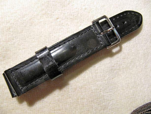 Кожаный ремешок (Россия) для часов 18 мм,новый,из цельного куска кожи