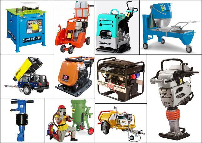 Wypożyczalnia wynajem sprzętu Budowlanego Ogrodniczego Narzędzi Maszyn
