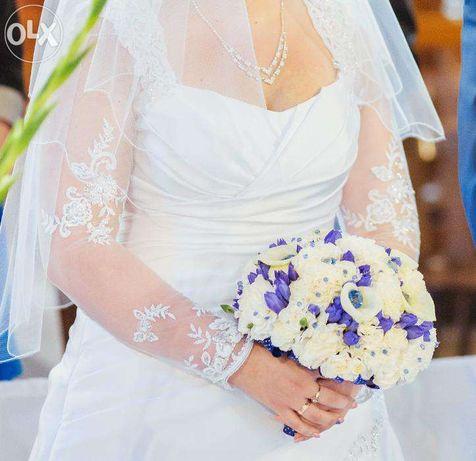 Oddam za symboliczną kwotę Suknię Ślubną + dodatki