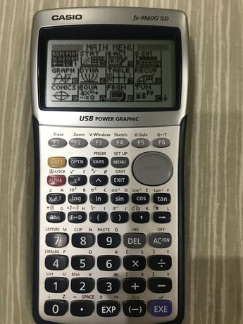 Calculadora Gráfica Casio fx- 9860G SD