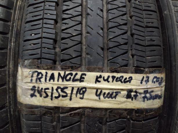 666 Как новые шины 8мм 17 год R19 245/55 Triangle
