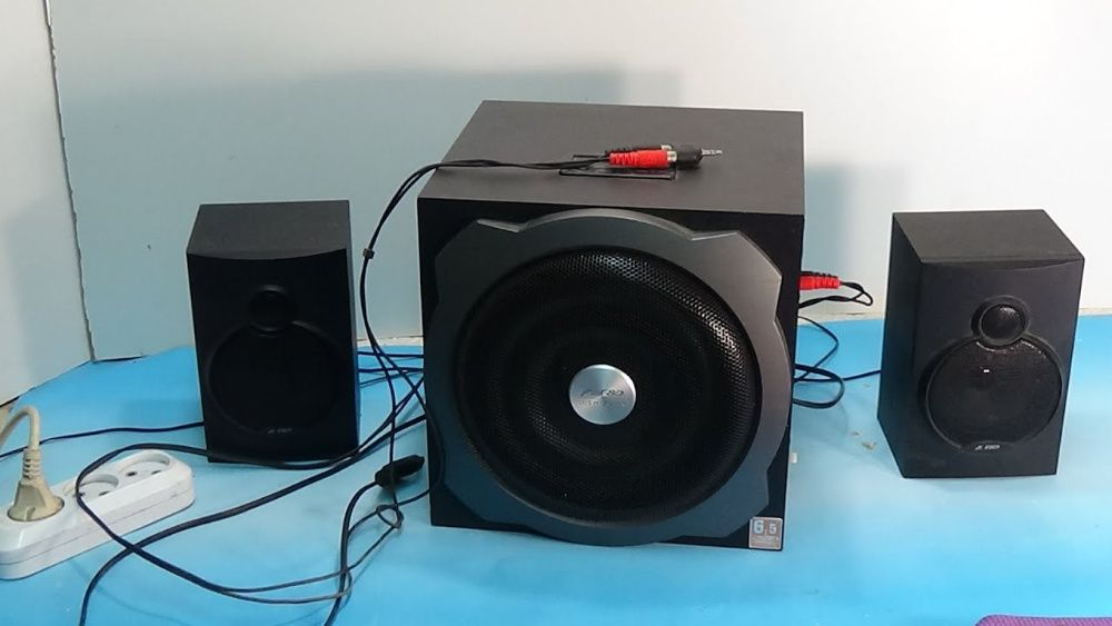 F&D A521 акустика 2.1 колонки сабвуфер система кинотеатр Краматорск - изображение 1