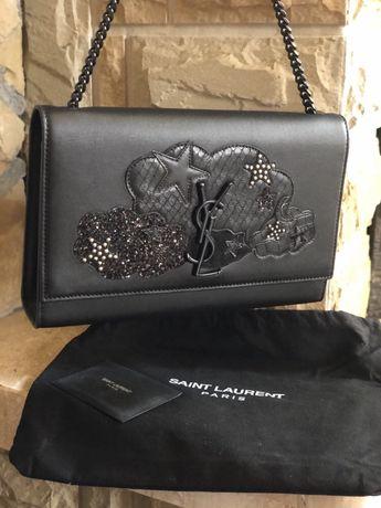 Кожаная сумка Saint Laurent оригинал