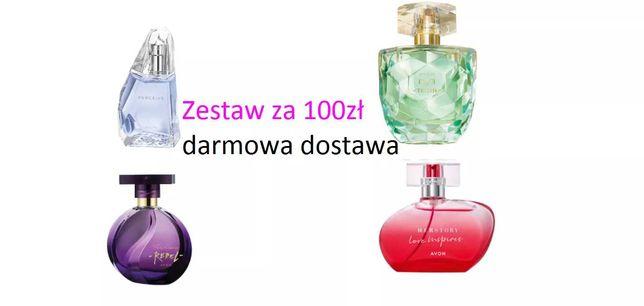 4szt perfum za 100zł