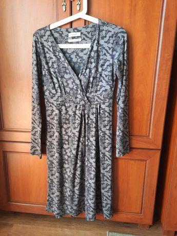 Sukienka ciążowa i do karmienia bawełniana rozmiar S/ M