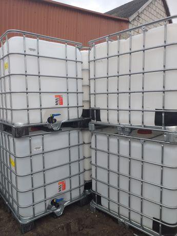 Mauzer 1000l beczka 1000l zbiornik mauser paletopojemnik