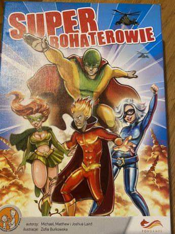 Super Bohaterowie gra karciana NOWA