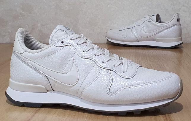 """Фирменные кожаные кроссовки Nike """"Internationalist Premium"""" 40р/25,5см"""