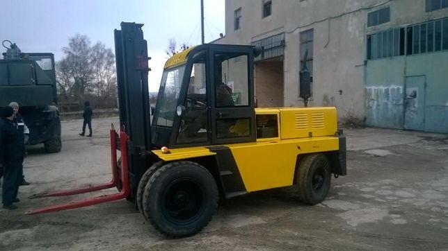 Полный капитальный ремонт Львовских погрузчиков, установка дизельных д