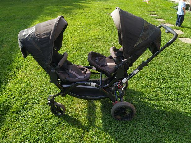 Wózek dla bliźniaków rok po roku