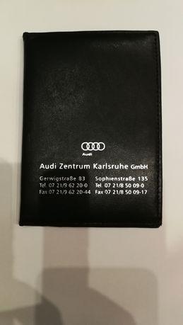 Audi skóra oryginalne etui na dokumenty cena ostateczna