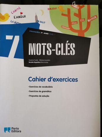 Mots-clés 7 caderno de atividades