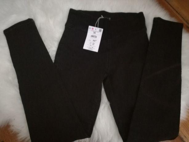 Nowe z metką spodnie cropp