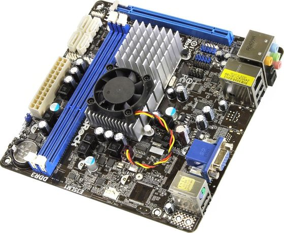 Motherboard Mini ATX E35LM1 All In One - ideal para construir uma NAS