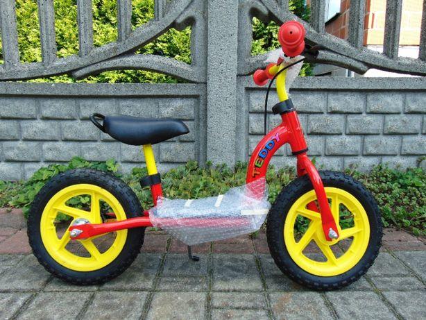 NOWY Rowerek biegowy TEDDY, hulajnoga