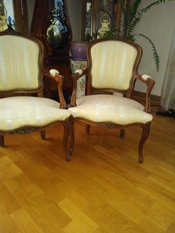 fotele ludwik z francji do renowacji