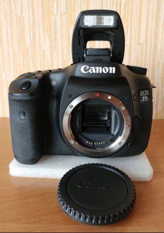 Canon EOS 7D, пробег 12К кадров