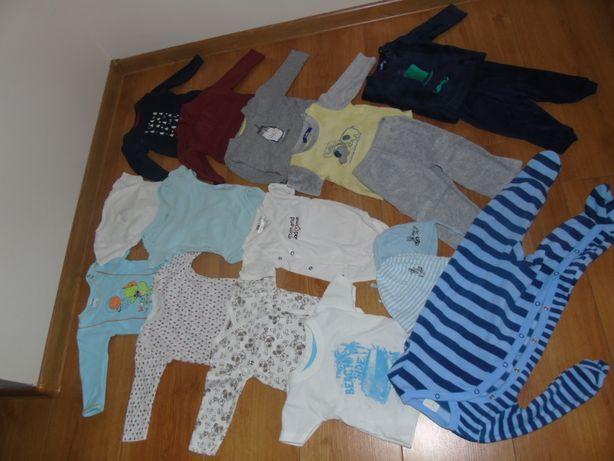 Zestaw ubranek dziecięcych rozmiar 62 -68