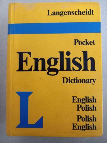Słownik polsko angielski ang-pol langenscheidt